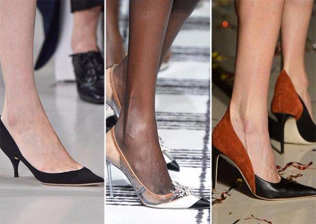 Модная обувь сезона осень-зима 2015-2016