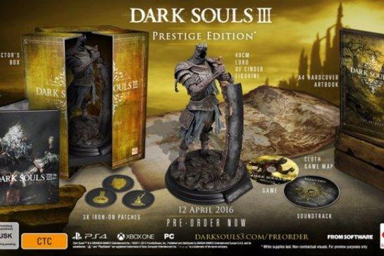 Коллекционные издания для Dark Souls 3