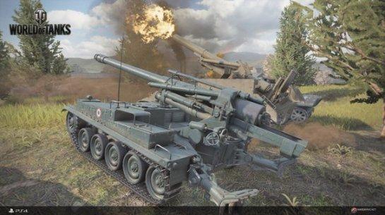 В следующем месяце пройдет бета-тест World of Tanks для PS4
