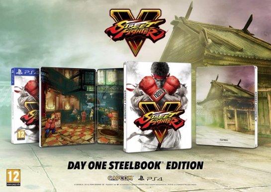 Анонсировано коллекционное издание Street Fighter V
