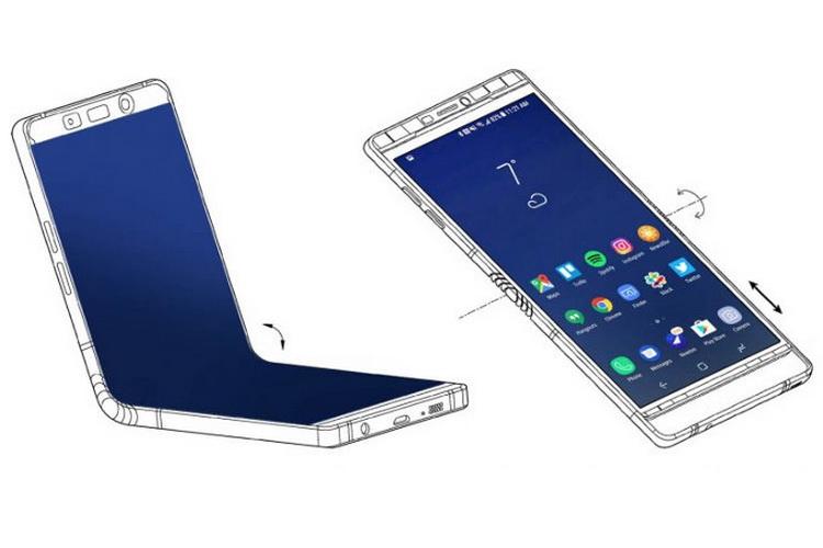 #CES 2018 | Samsung показала прототип гнущегося смартфона