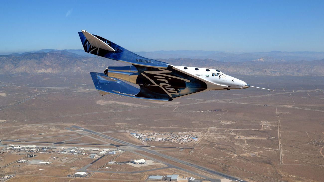 SpaceShipTwo от Virgin Galactics совершил финальный тестовый полёт-планирование