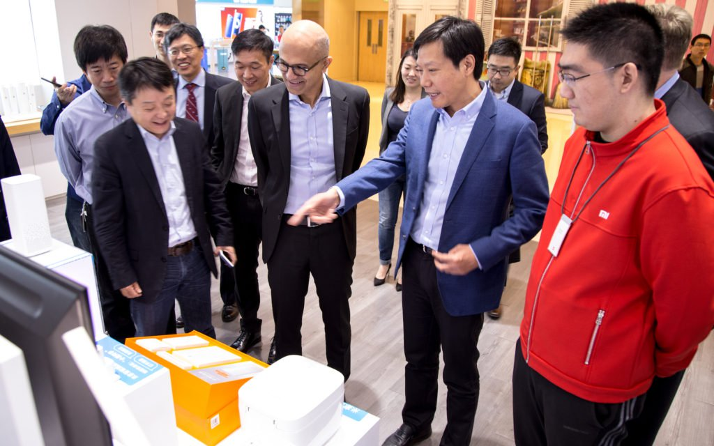 Microsoft и Xiaomi заключили договор о сотрудничестве