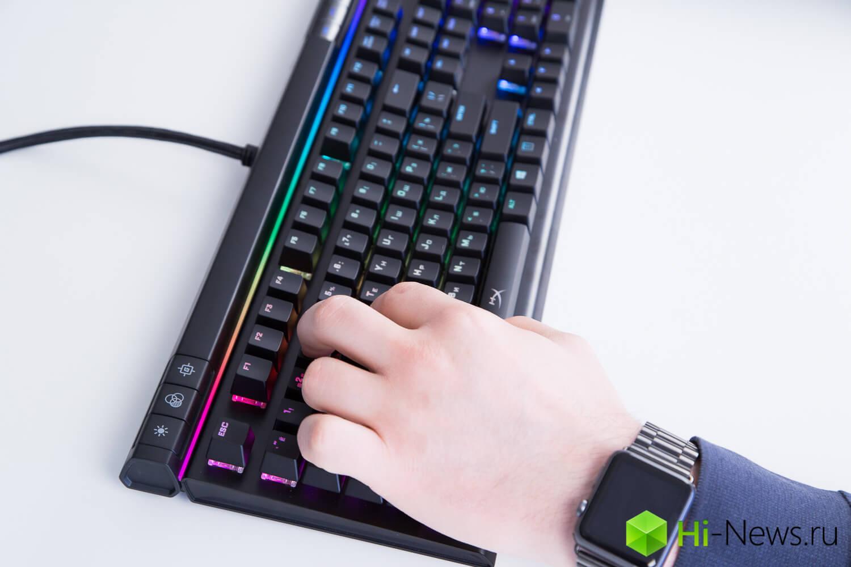 Игровая дискотека: обзор клавиатуры HyperX Alloy Elite RGB