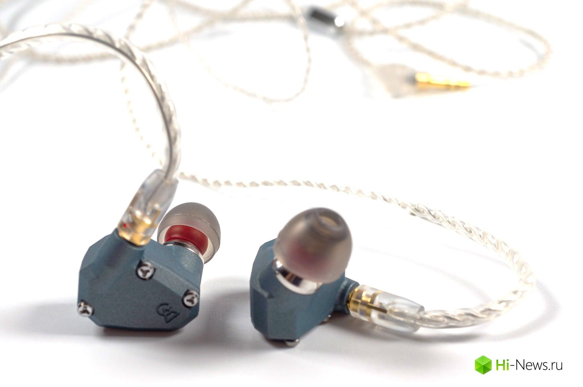 Наушники Campfire Audio Andromeda — обычная и CK Pacific Blue версии