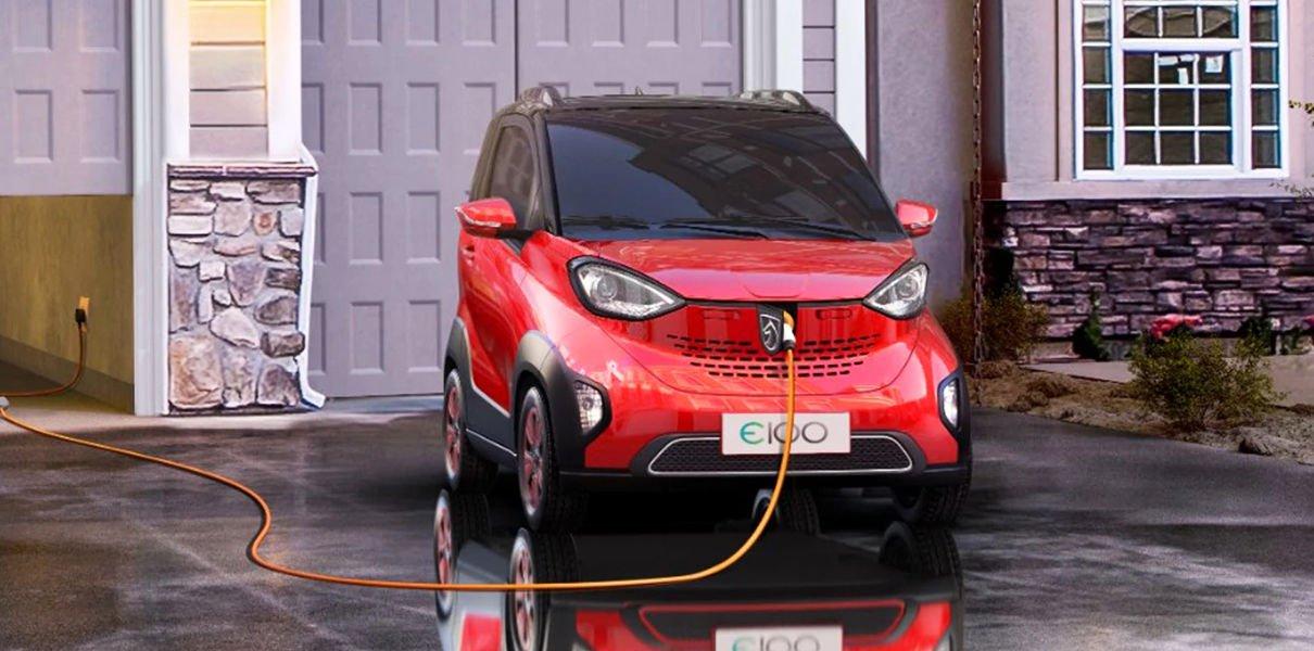 В Китае начались продажи электрокара за 6 тысяч долларов