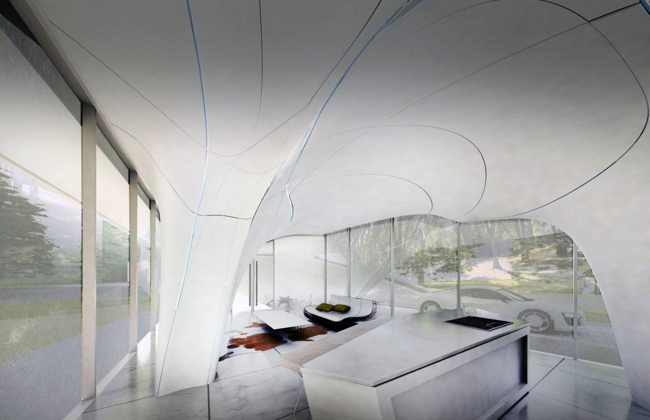 Стартап WATG напечатает первый в мире жилой дом свободной формы
