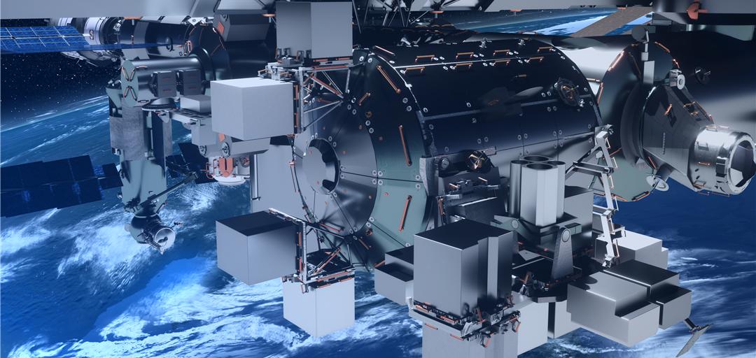 В 2019 году на МКС появится частный исследовательский модуль