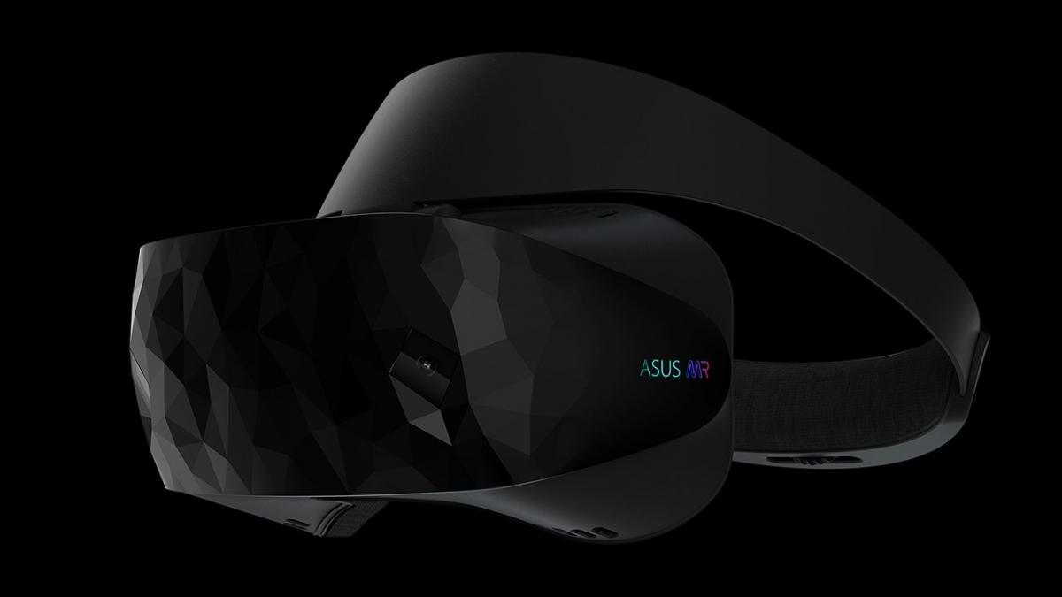 Asus выпустила гарнитуру смешанной реальности HC102