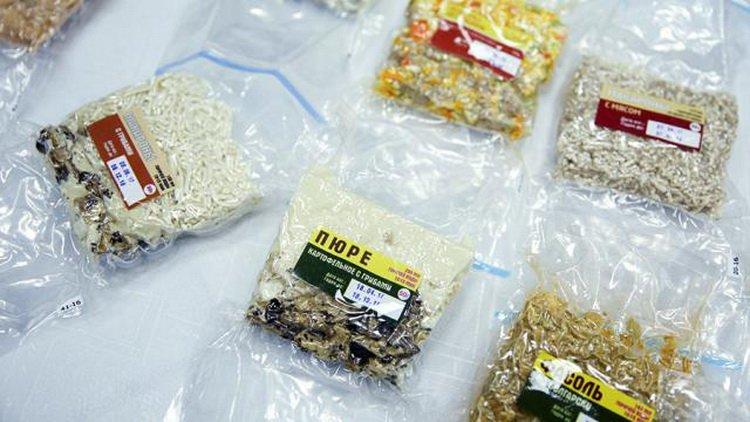 Продукты для космонавтов будут упаковываться в новую тару