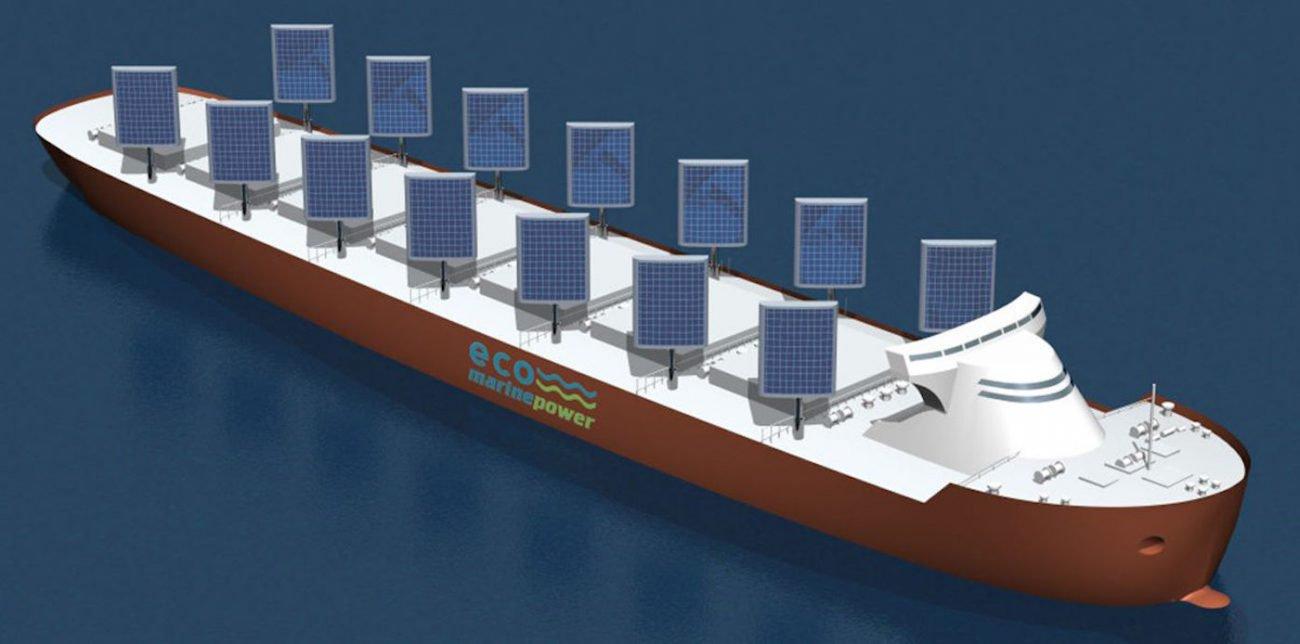 Японская компания установит на грузовые суда «солнечные паруса»