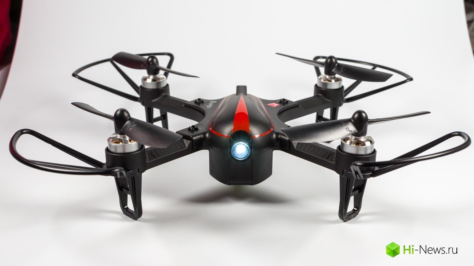 Обзор квадрокоптера MJX Bugs 3 Mini — бесколлекторные моторы и скорость
