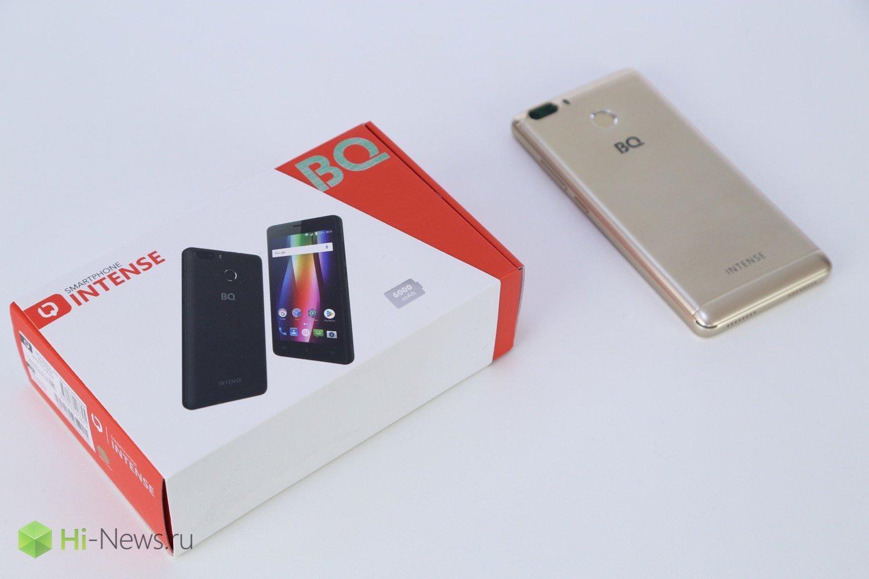 BQ Intense — долгоиграющий смартфон из России