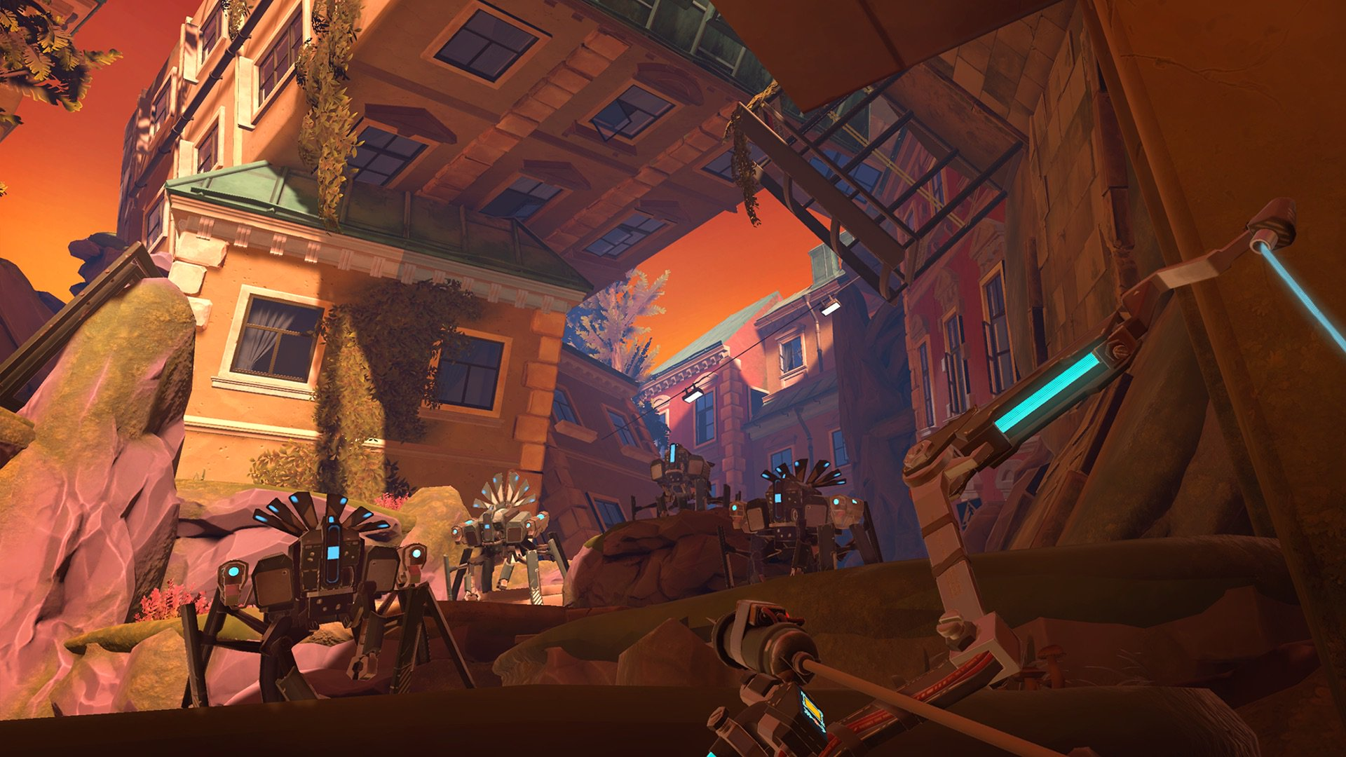 Обзор игры Apex Construct: лучник против роботов