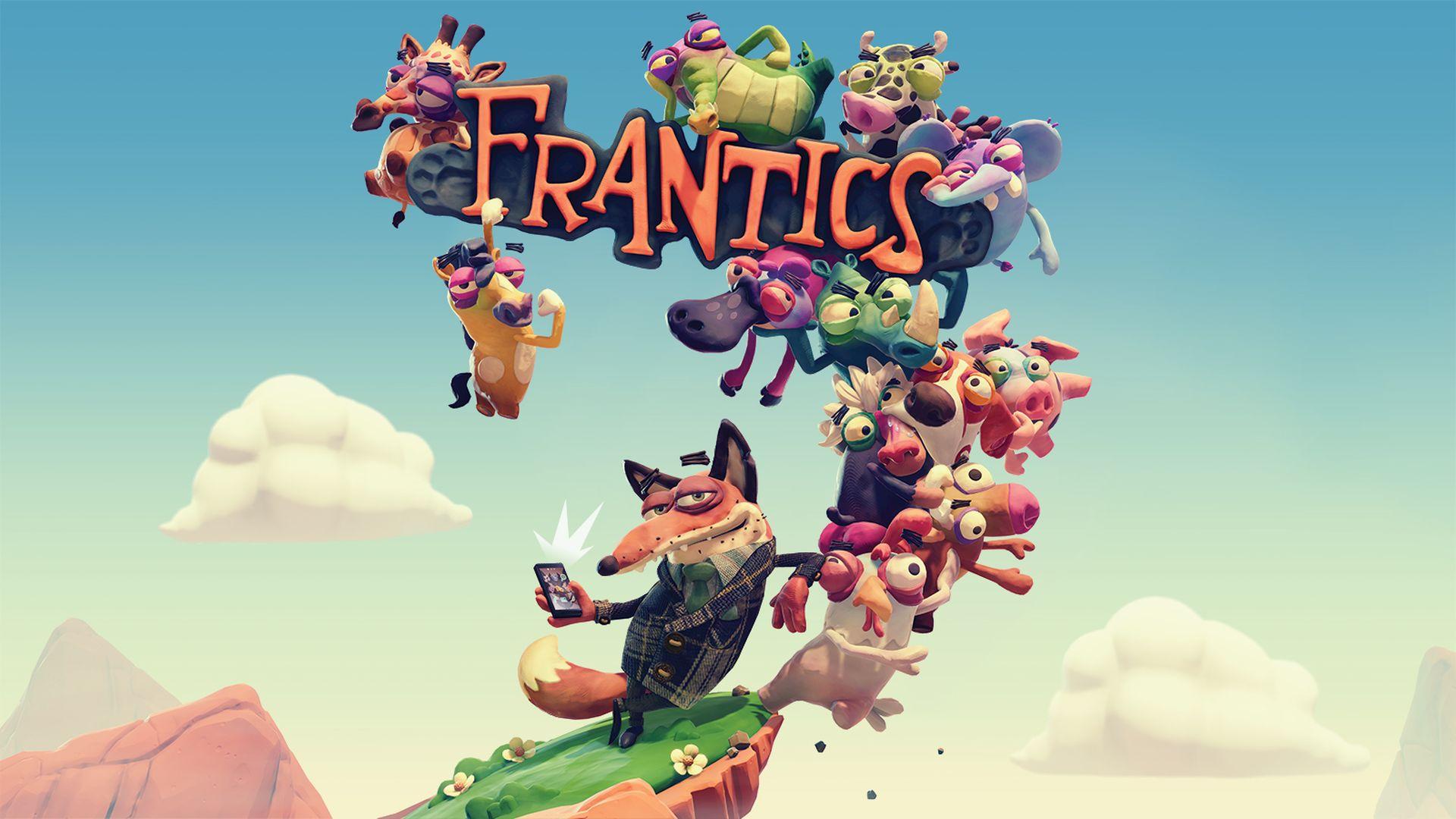 Обзор игры Frantics: «Королевская битва», не вставая с дивана