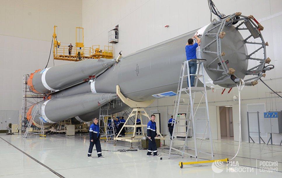 Началось строительство первой тяжелой ракеты-носителя серии «Ангара»
