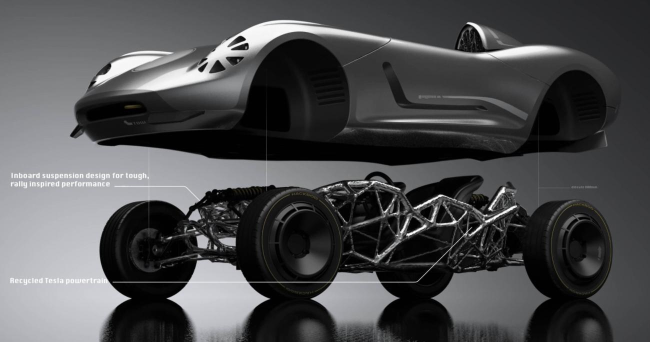 В Siemens впервые распечатали автомобиль на 3D-принтере