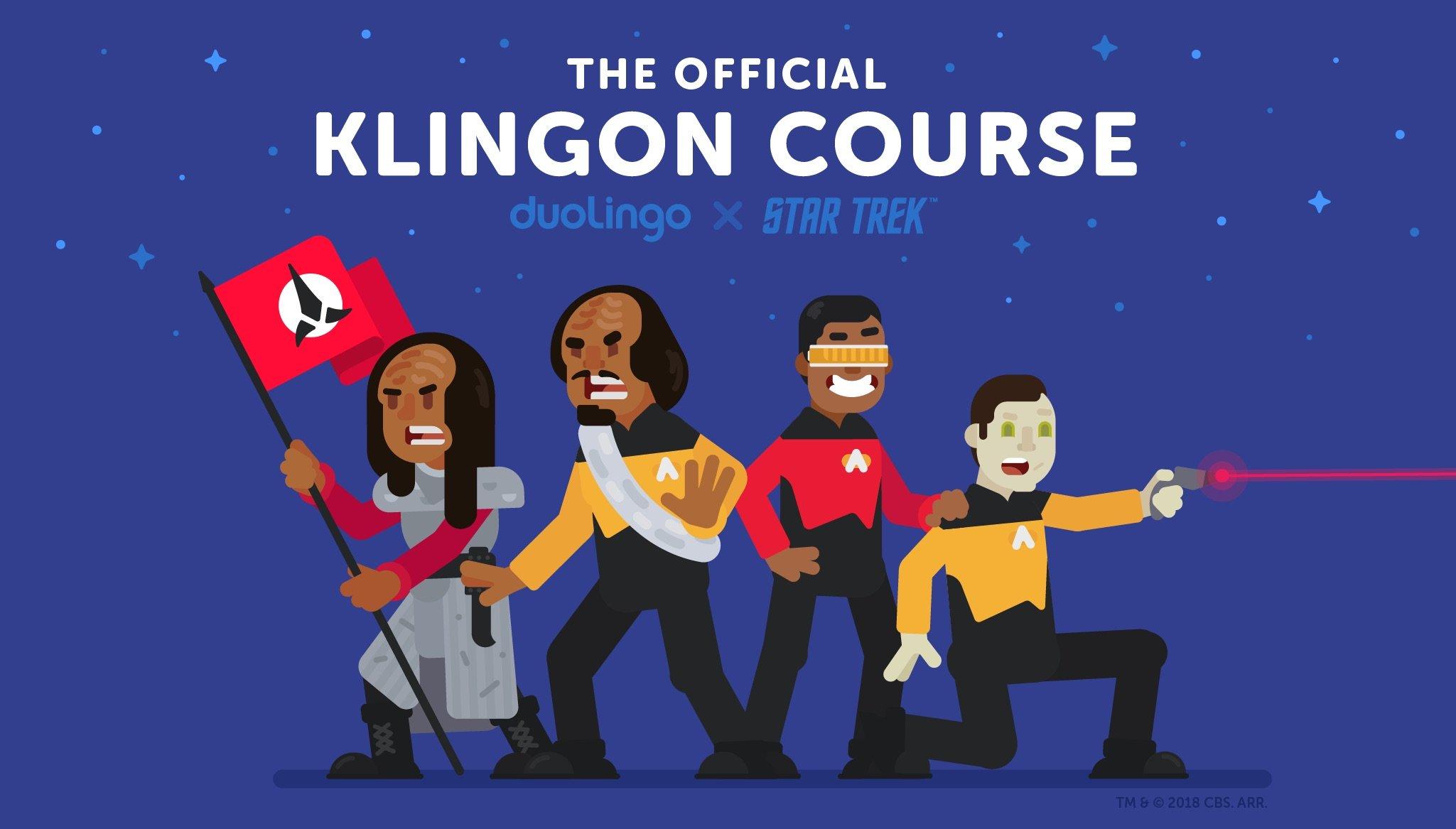 Выучить клингонский язык из Star Trek теперь может любой желающий