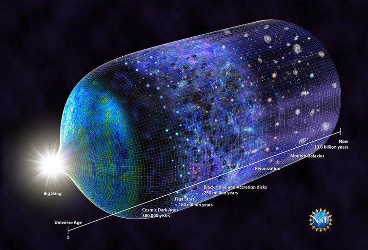 Свет первых звезд может изменить наше представление о темной материи