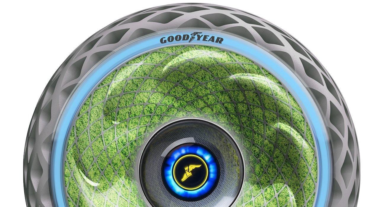 Goodyear показала автомобильные шины, вырабатывающие кислород