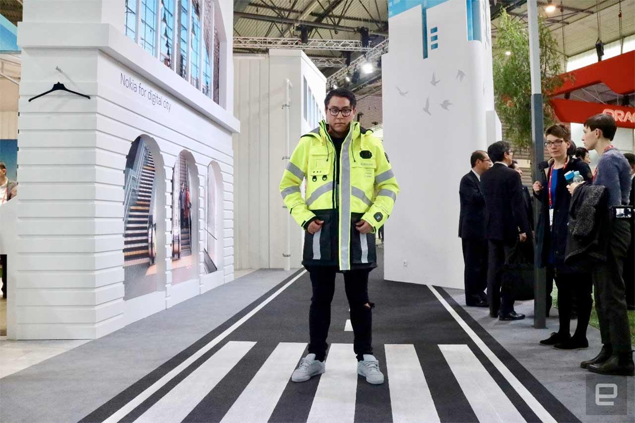 Nokia представила модульную смарт-куртку