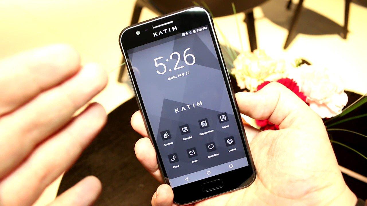 Смартфон Katim защитит владельца от слежки