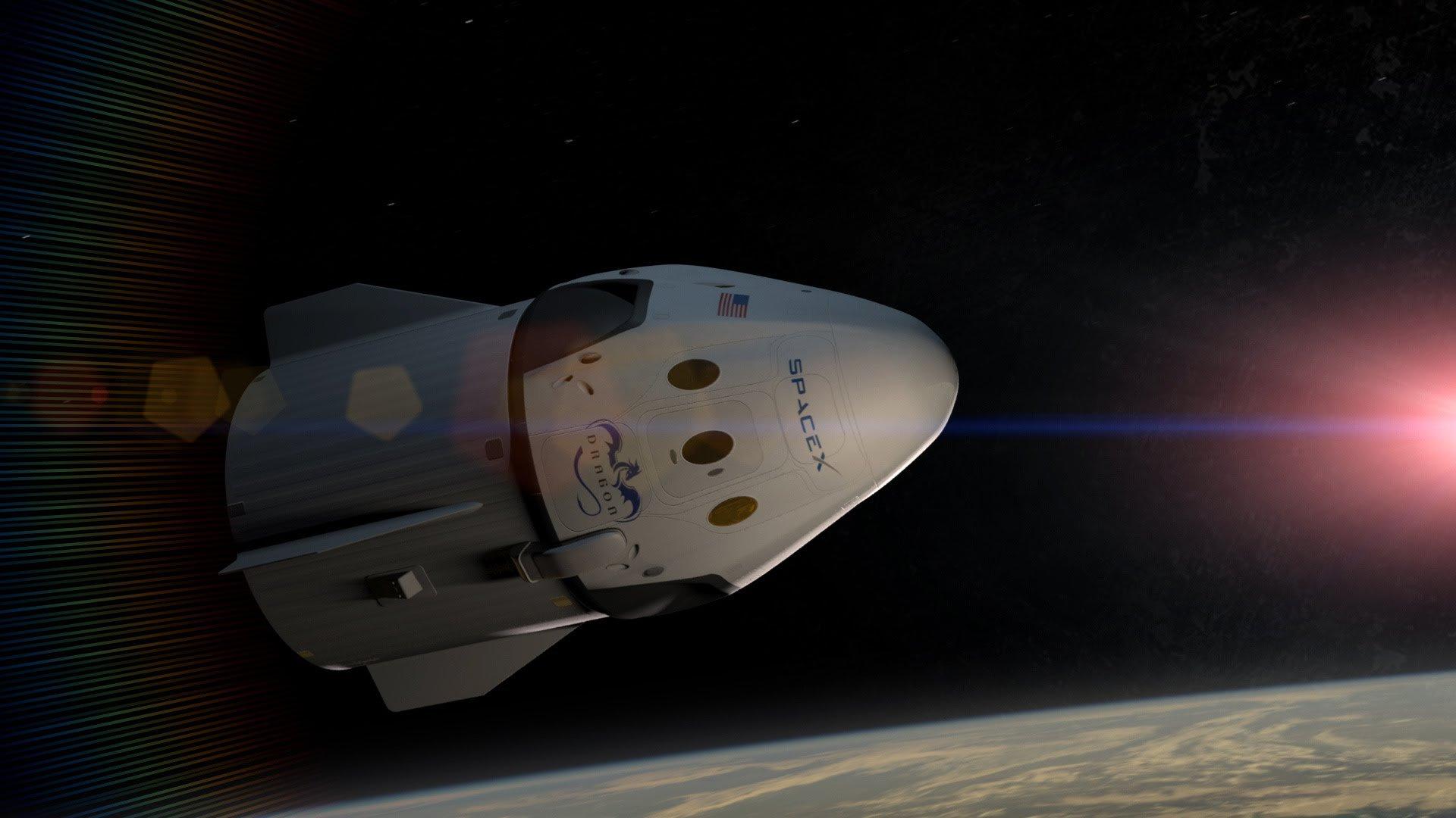 Российские космонавты в будущем смогут летать на МКС на кораблях SpaceX