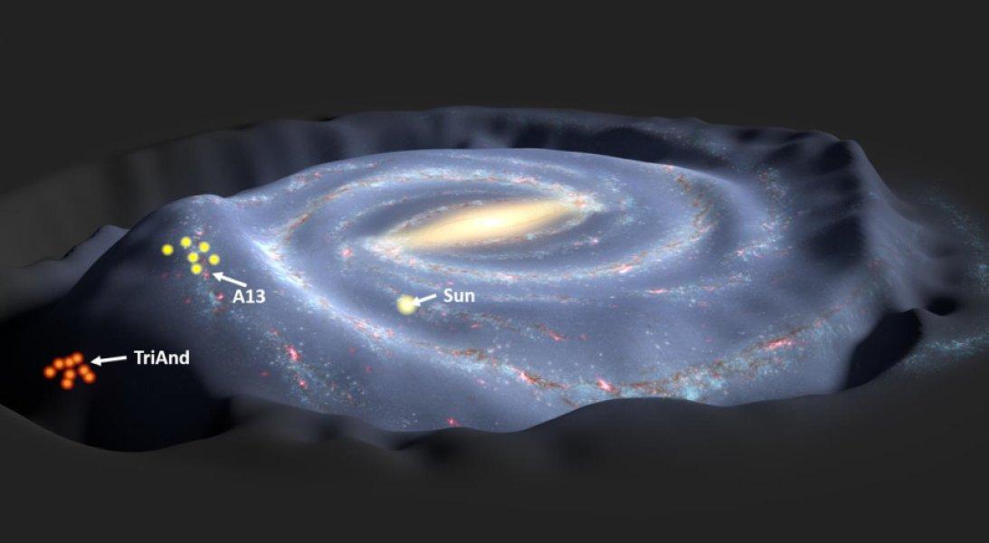 Ученые выяснили, откуда взялись звезды в гало Млечного Пути