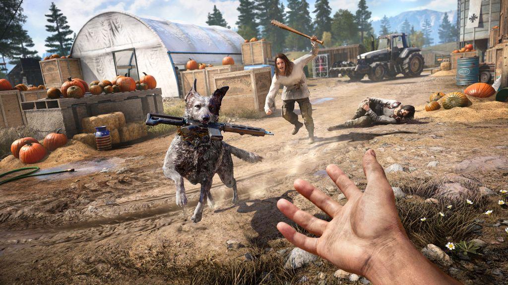 Обор игры Far Cry 5: один против культа