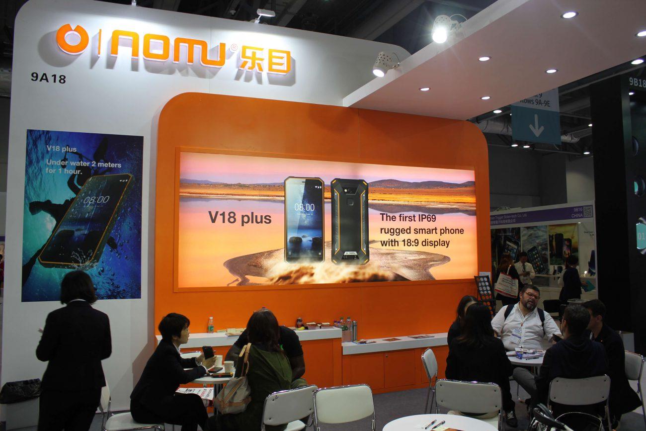 В Китае показали самые защищенные смартфоны