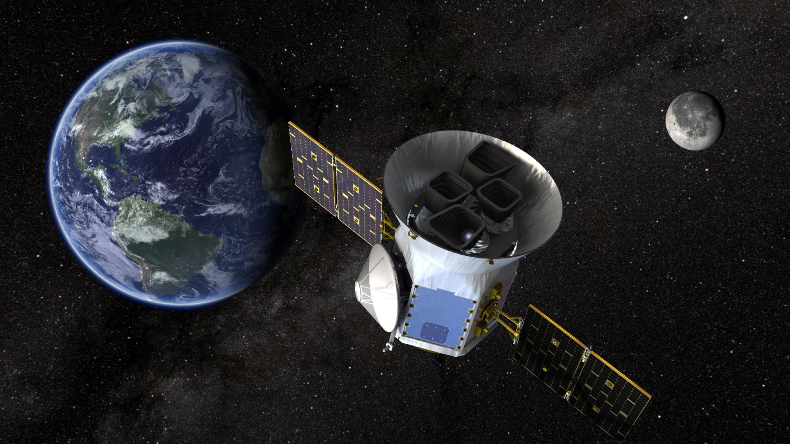 Новый «охотник за экзопланетами» NASA будет запущен в понедельник