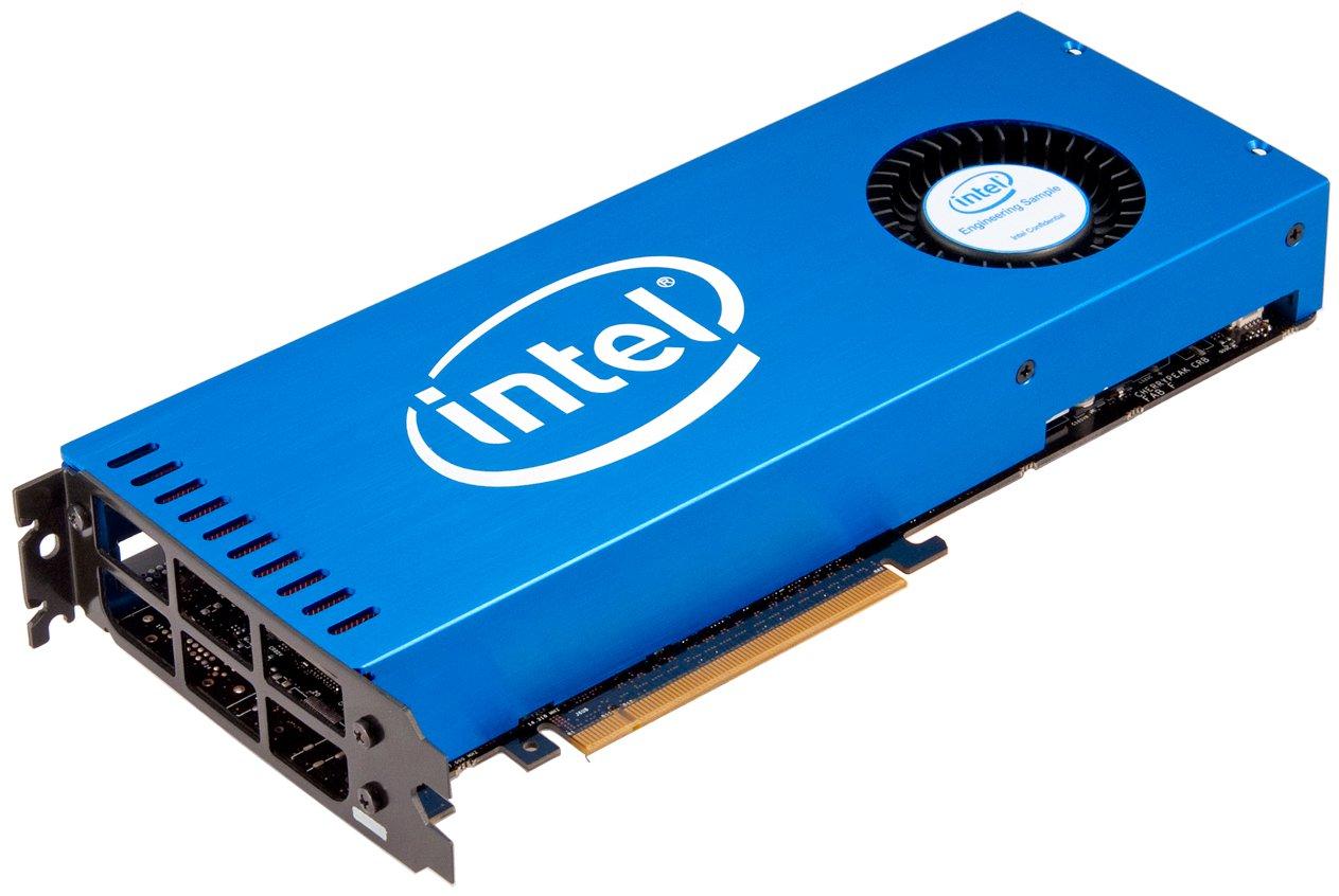 Forbes: Intel хочет выйти на рынок игровых видеокарт и потеснить NVIDIA и AMD
