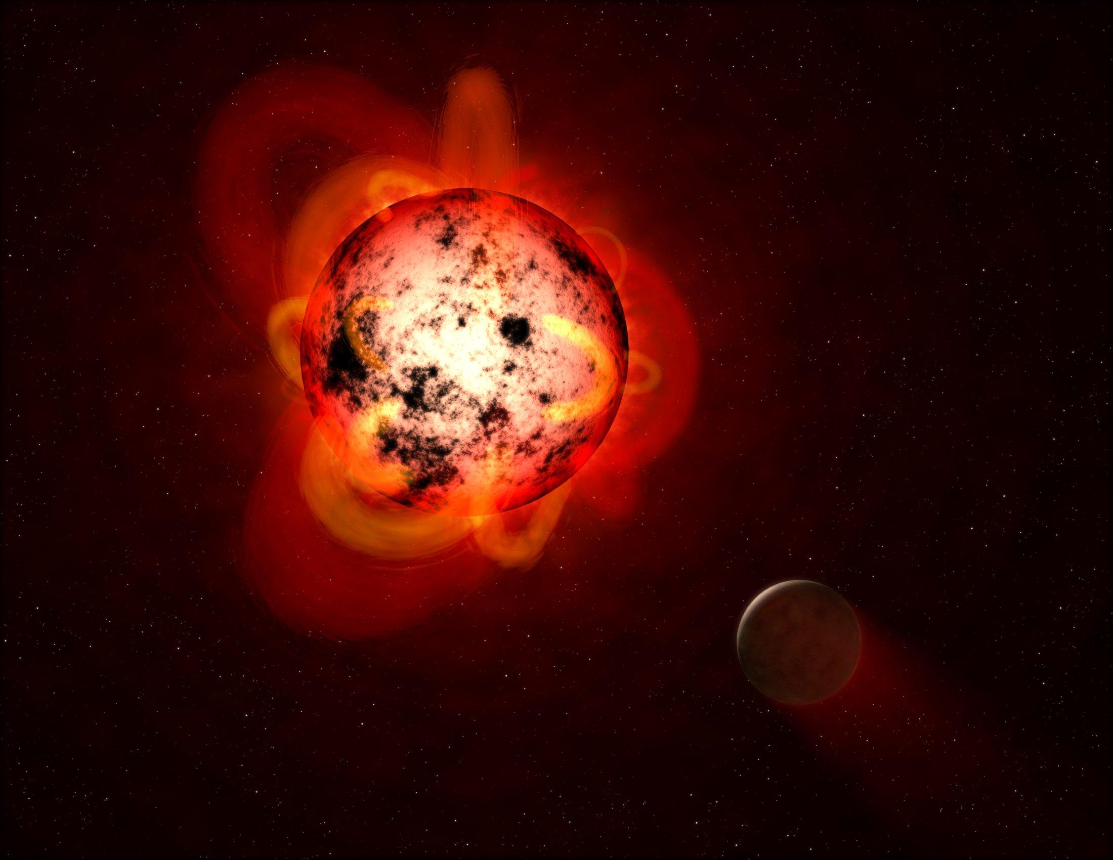 Еще одна звездная система была стерилизована от любой возможной жизни