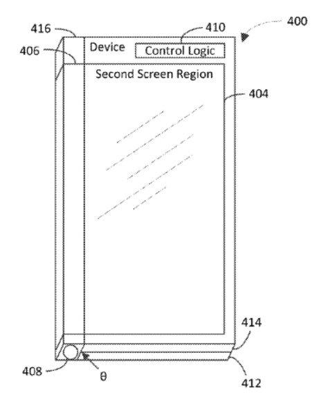 Какой у смартфона Microsoft третий экран?