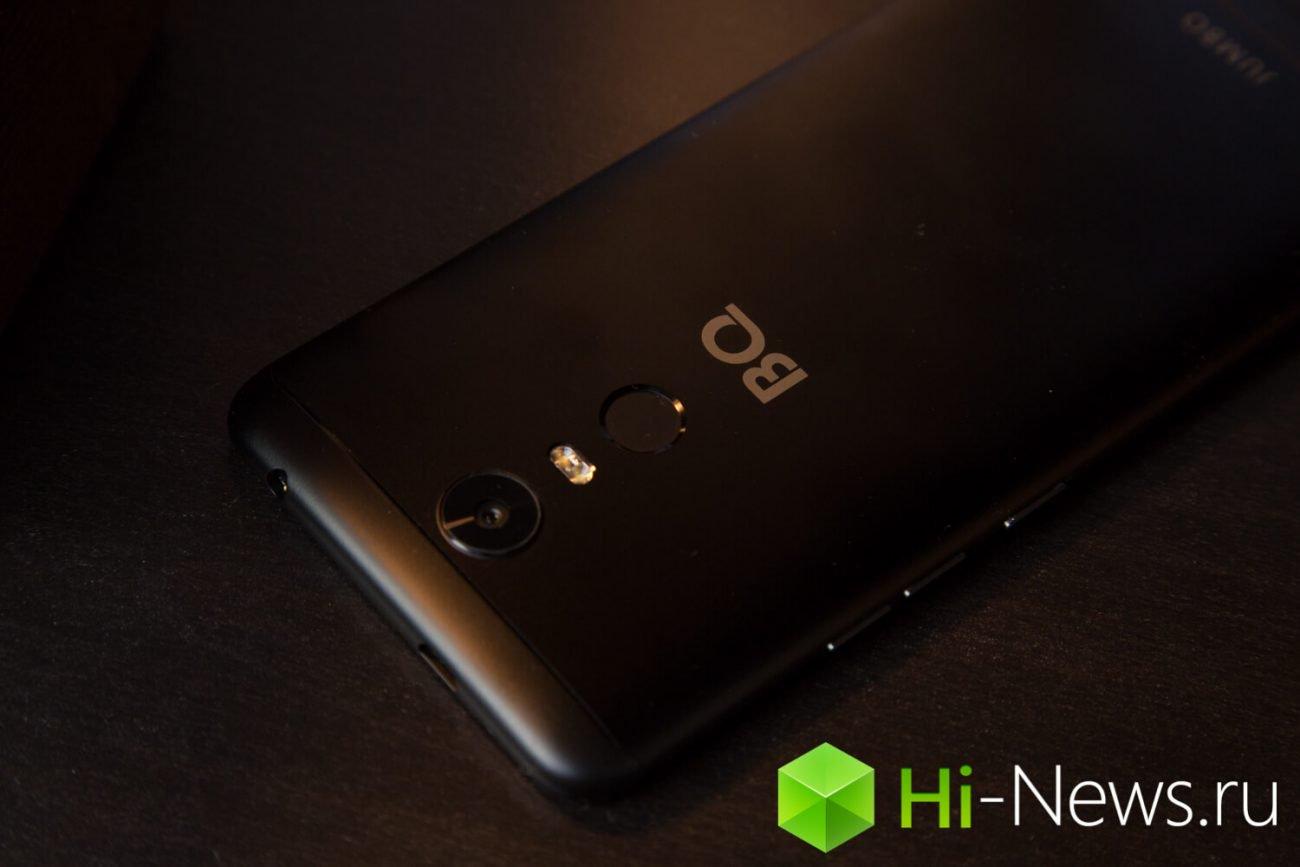 Из стекла и металла: обзор смартфона BQ Jumbo