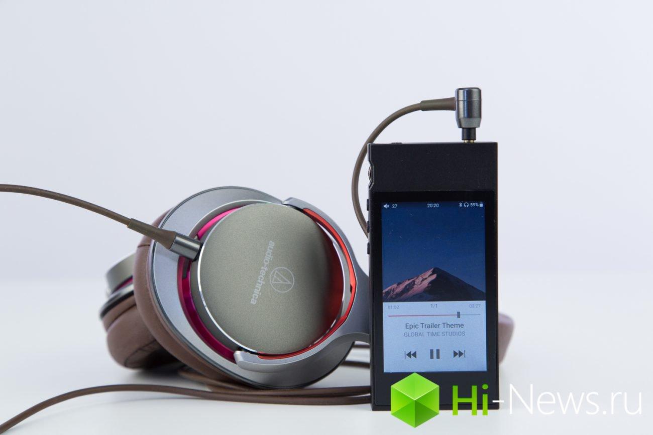Обзор FiiO M7 — плеер с замашками смартфона
