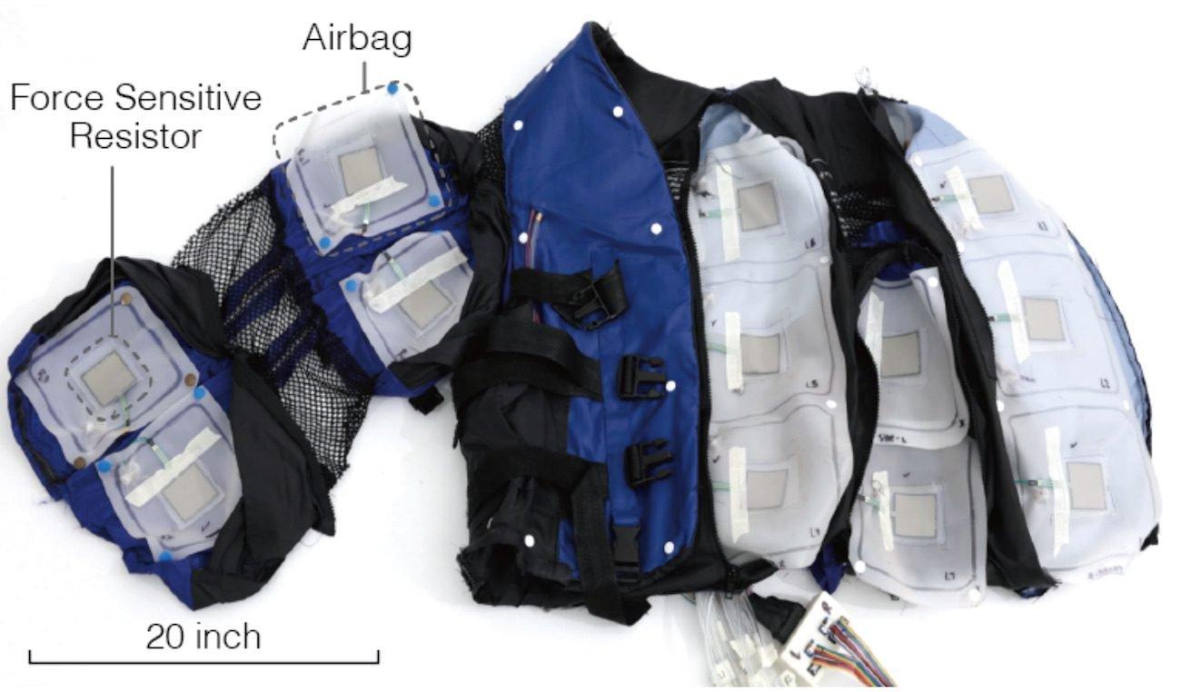 Disney и MIT создали VR-куртку, передающую ощущения