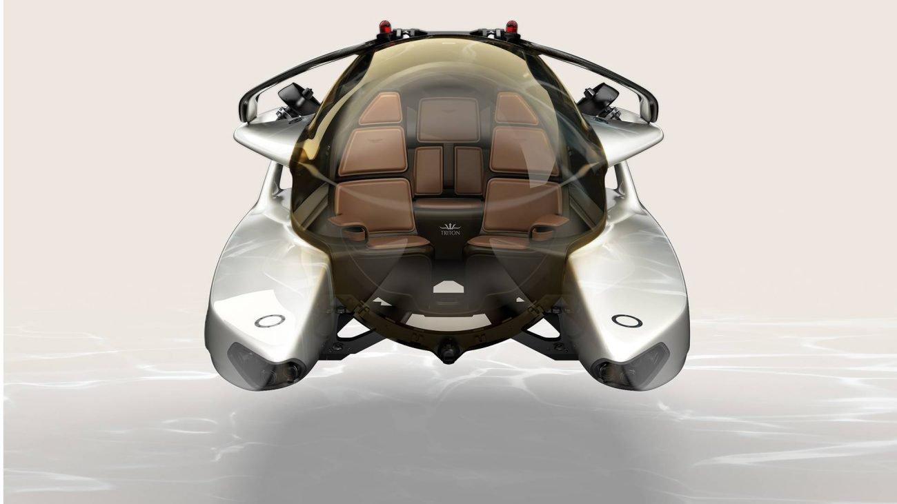 Aston Martin приступает к созданию электрической подводной лодки