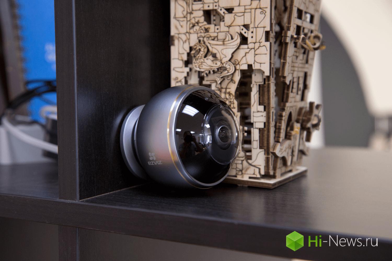 EZVIZ Mini Pano — безопасность под углом 180 градусов