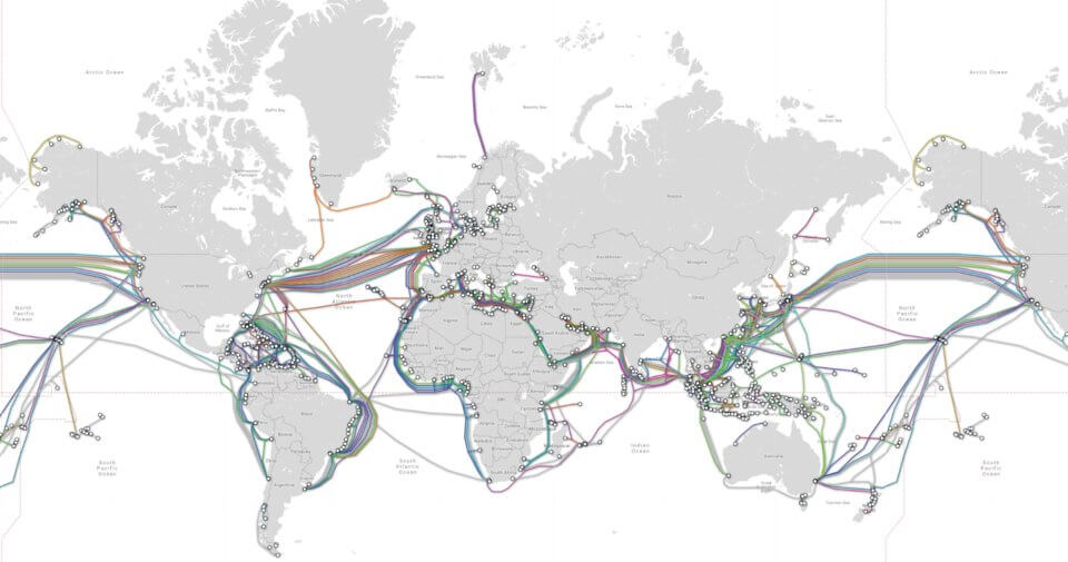 Как на самом деле выглядит Интернет