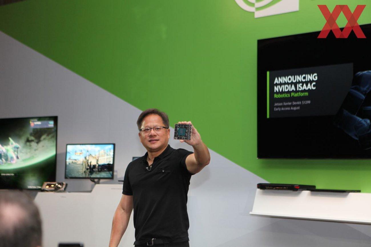 Jetson Xavier: мозг для роботов с ИИ от NVIDIA