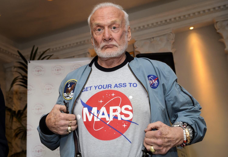 Второй человек на Луне рассказал свой план покорения Марса