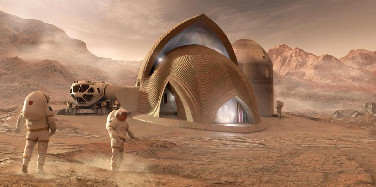 Финалисты конкурса NASA показали свои модели марсианской среды обитания