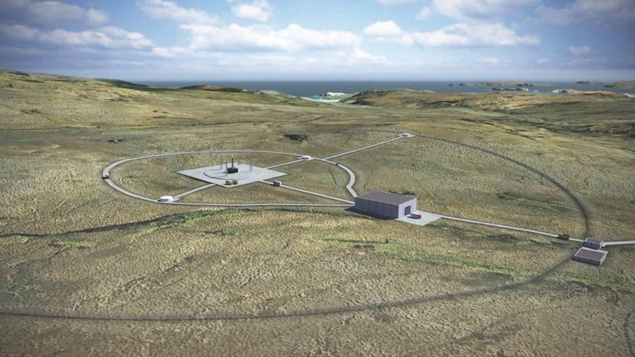 В Великобритании строят свой первый космодром