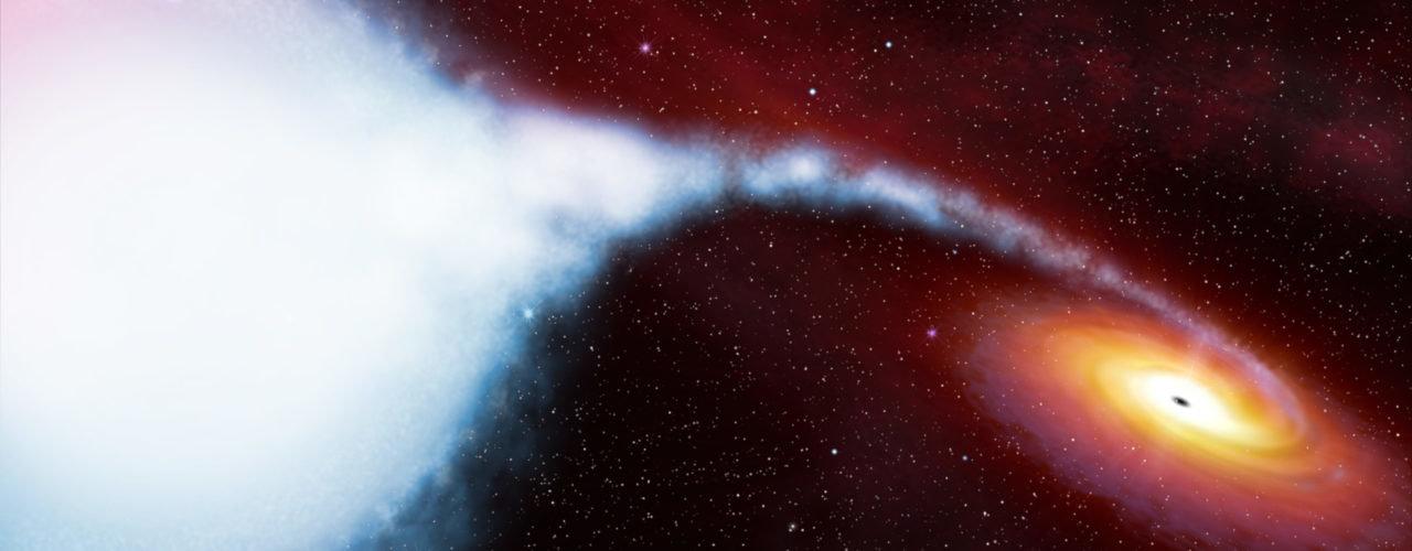 Рентгеновская техника показала ранее не виданное вещество возле черной дыры