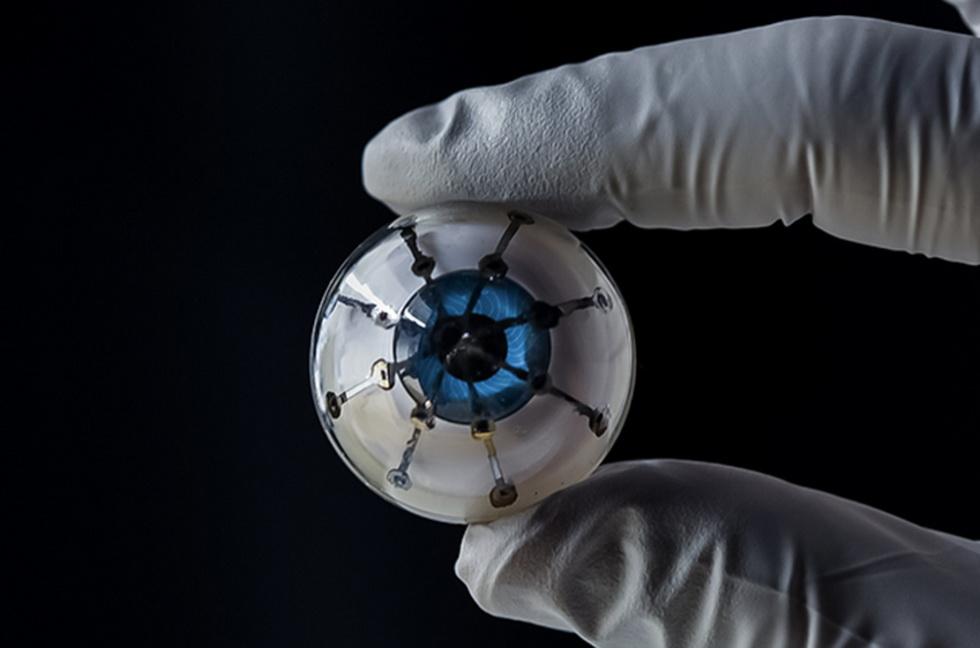 С помощью 3D-печати ученые создали бионический глаз