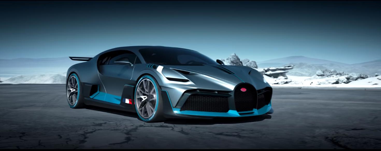 Bugatti представила новейшую модель Divo. Все 40 автомобилей были распроданы мгновенно