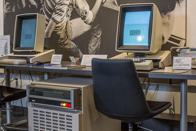 Экскурсия в музей компьютеров, которые изменили мир