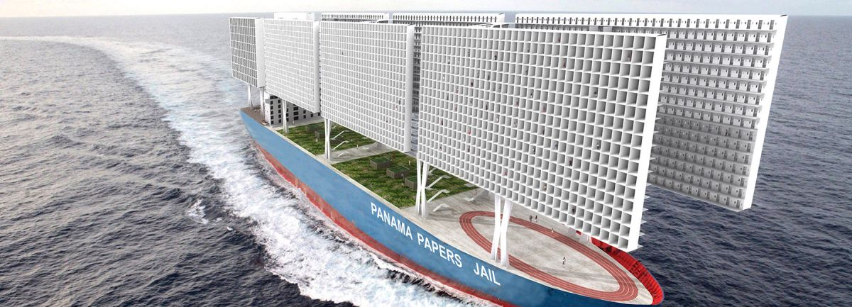 Французские архитекторы предложили построить корабль-тюрьму