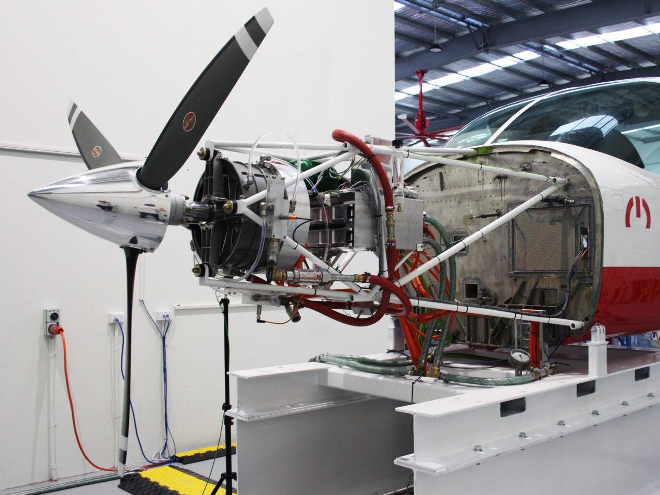 Начались испытания самого эффективного двигателя для электросамолетов